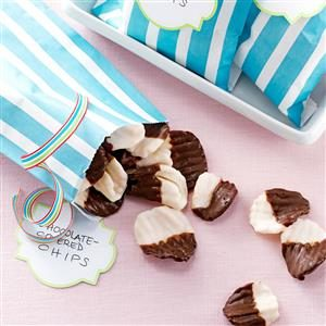Chocolate-Covered Chips Recipe