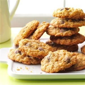 Chocolate-Covered Raisin Cookies Recipe