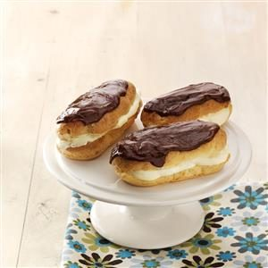 Inspired by: Sara Lee Mini Eclairs