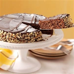 Chocolate Espresso-Nut Torte Recipe