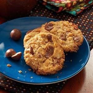 Chocolate Malt Ball Cookies Recipe