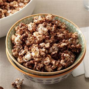 Chocolate-Mint Popcorn Recipe