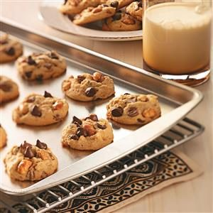 Chocolate Peanut Cookies Recipe