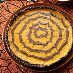 Sweet Treat: Chocolate Pumpkin Spider Tart