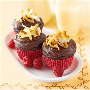 Chocolate Raspberry Cupcakes Recipe