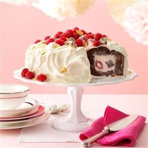 Chocolate Raspberry Tunnel Cake Recipe