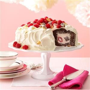 Chocolate Raspberry Tunnel Cake Recipe