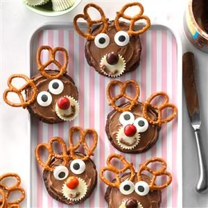 Chocolate Reindeer Cookies Recipe