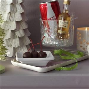 Chocolate Rum-Soaked Cherries Recipe