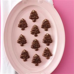 Chocolate Spritz Trees