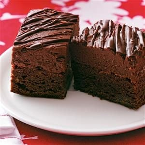 Chocolate Strawberry Truffle Brownies Recipe