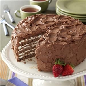 Chocolate/Whipping Cream Torte Recipe