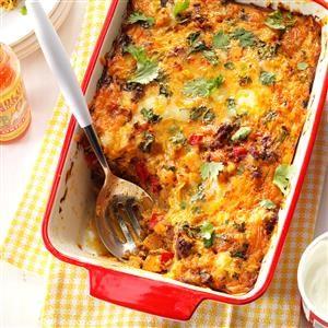 Chorizo Egg Casserole Recipe