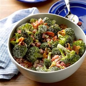 Christmas Broccoli Salad Recipe