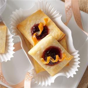 Christmas Cherry Citrus Pastries Recipe