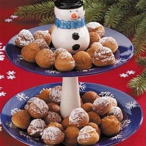 Christmas Doughnuts Recipe