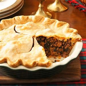 Christmas Eve Meat Pie Recipe