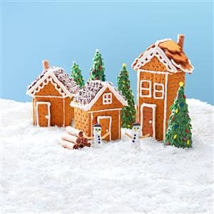 Christmas Graham Houses Recipe