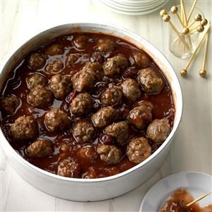 Christmas Meatballs Recipe | Taste of Home