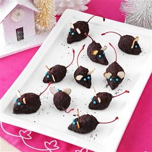 Christmas Mice Truffles Recipe