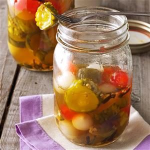 Christmas Pickles Recipe