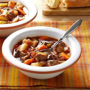 Chunky Beef & Vegetable Soup Recipe