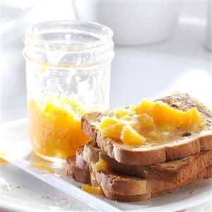 Chunky Peach Spread Recipe
