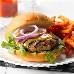 Chutney Turkey Burgers Recipe