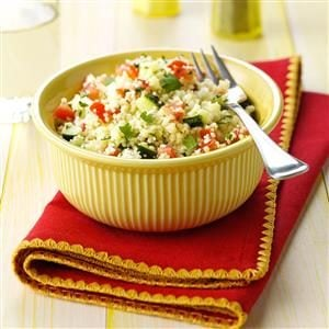 Cilantro Couscous Salad Recipe