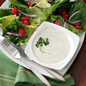 Cilantro Salad Dressing Recipe