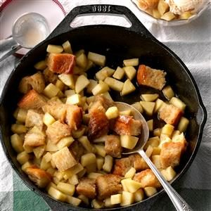 Cinnamon Apple Pan Betty Recipe
