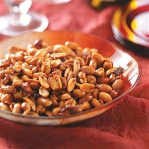Cinnamon-Glazed Peanuts Recipe