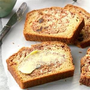 Cinnamon Raisin Quick Bread Recipe