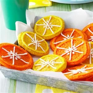 Citrus Cookies Recipe