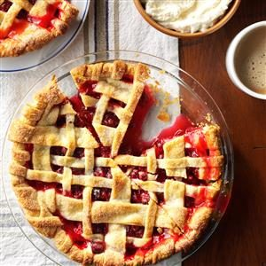Citrus Cranberry Pie Recipe