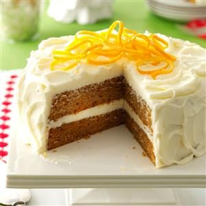 Citrus-Kissed Sweet Potato Cake Recipe