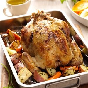 Citrus-Mustard Roasted Chicken