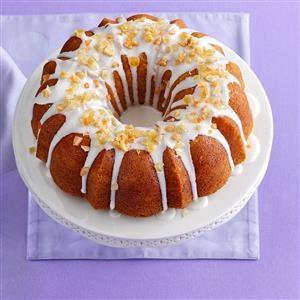 Citrus Pound Cake Recipe
