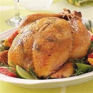 Citrus-Rosemary Roasted Chicken Recipe