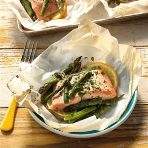 Citrus Salmon en Papillote Recipe