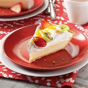 Citrus Sour Cream Pie Recipe