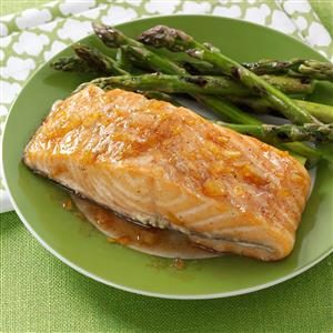 Citrus-Spice Glazed Salmon Recipe