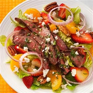 Citrus Steak Salad Recipe