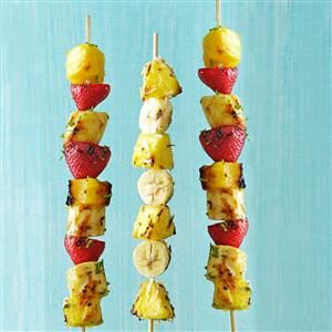 Citrusy Fruit Kabobs Recipe