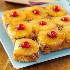 Classic Pineapple Upside-Down Cake Recipe