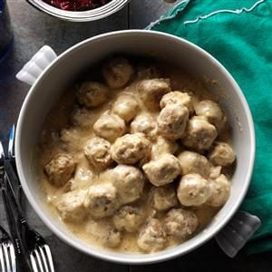 Classic Swedish Meatballs Recipe