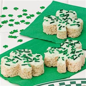 Clover Crispies Recipe