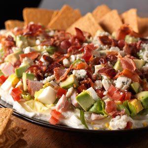 Cobb Salad Dip Recipe photo by KRAFT
