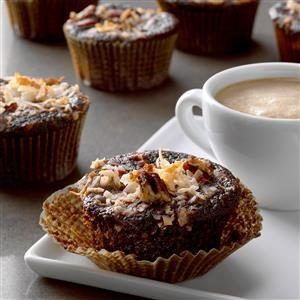 Coconut Chocolate Muffins Recipe