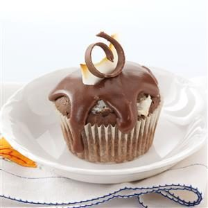 Coconut-Filled Chocolate Cupcakes Recipe